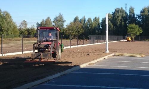przygotowanie terenu pod sadzenie drzew