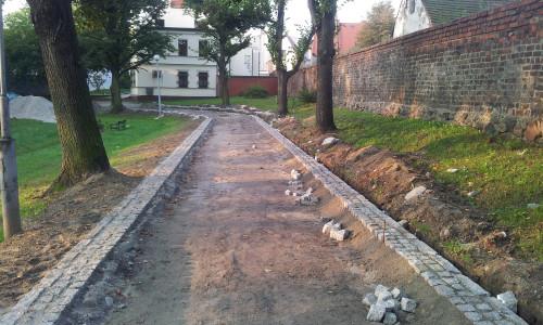 ścieżki parkowe Środa Śląska